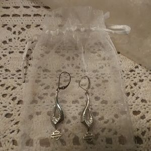 Earrings authentic Harley Davidson